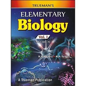 Trueman's Elementary Biology - Vol. 1