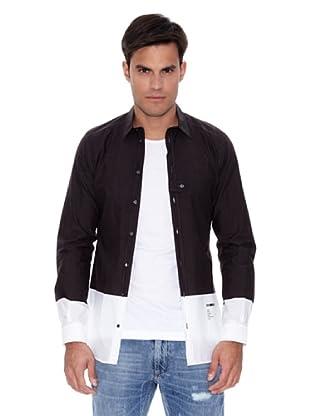 Dolce&Gabbana Camisa Lionardo (Gris Oscuro)