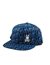 Psycho Bunny Big Bounce Flat Bill Hat in Dark Navy