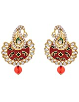Aadyaa Collections Gold Plated Dangle & Drop Earring for Women