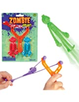 Zombie Splat 4 Slingshot (2 Zombies Per Pack) (Colors May Vary)