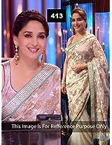 Madhuri Dixit Floral Bollywood Saree