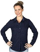 cotton semi comfort fit shirt