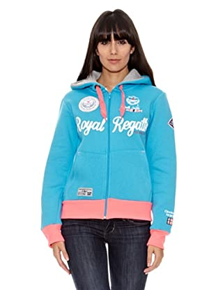 Geographical Norway Sudadera Figuerolle (Turquesa)