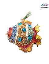 Microware Golden Fish ShMicroware Jewellery Designer Pen Drive 8 GB