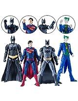 Dc Comics Spru Kits Level 1 Model Kit Assortment Case