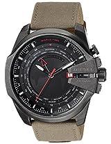Diesel Diesel Chi Chronograph Black Dial Men's Watch - Dz4306I