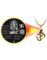 Dijyo Divine Darshan Gold Plated Lakshmi Mataji Pendant For Unisex