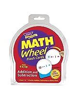 Trend Enterprises Inc. Math Wheel Flash Cards 12/Pk (Set Of 3)