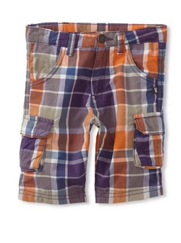 KANZ Boy's Purple Shorts (Purple)