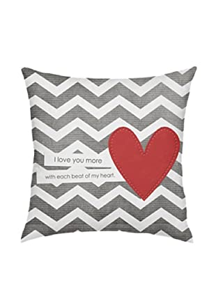 ArteHouse I Love You More Pillow
