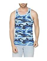 Clifton Men's Army Vest - Light Blue - XX-Large