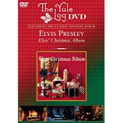 Elvis Christmas / Yule Log [DVD] [Import]