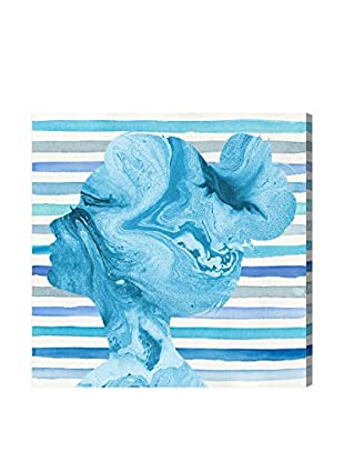 Oliver Gal Striped Silhouette Canvas Art
