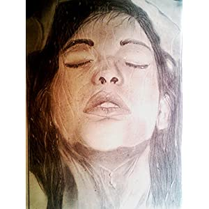 NUCreations Let It Out - Original Painting - Charcoal On Cartridge Paper