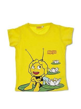 Licencias Camiseta Abeja Maya (Amarillo)