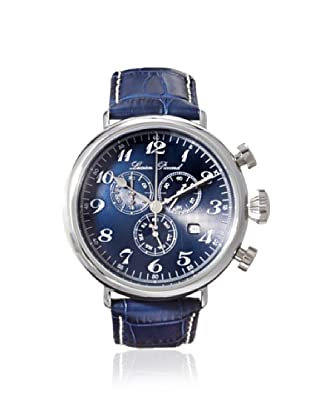 Lucien Piccard Men's 72414-03 Trieste Blue Textured Leather Watch