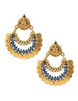 Ethnic Indian Artisan Jewelry Set Pretty Dangler EarringsV346b