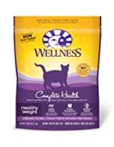 Wellness Healthy Weight Adult Cat Food 40-Ounce Bag AD