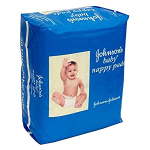 Johnson's 44001813 Baby Nappy Pads