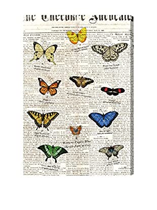 Oliver Gal 'Butterflies' Canvas Art