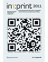 Imprint 2011: Zustandsprotokolle Aktueller Druckgrafik / Journal for the State of Current Printmaking (Edition Angewandte)