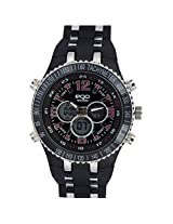 Maxima Ego Analog-Digital Black Dial Men's Watch - E-34280PPAN