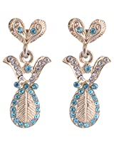 Sapna Jewellery Gold plated Dangle & Drop Earring For Women (Silver)