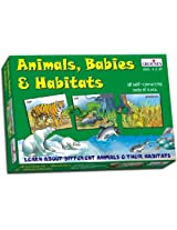 Creative Educational Aids 0945 Animal Babies & Habitats