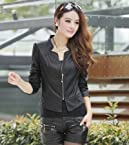 OnlyUrs Korean Fashion Style Leather Jacket For Women