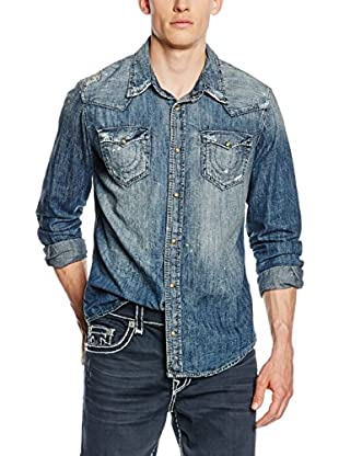 True Religion Camicia Denim Ryan