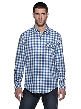 Timberland Camisa Allendale (Blanco/Azul)