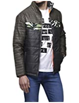 Yepme Men's Brown Polyester Jacket-YPMJACKT0103_XL