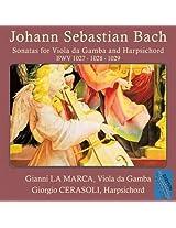 Johann Sebastian Bach: Sonatas For Viola Da Gamba And Harpsichord