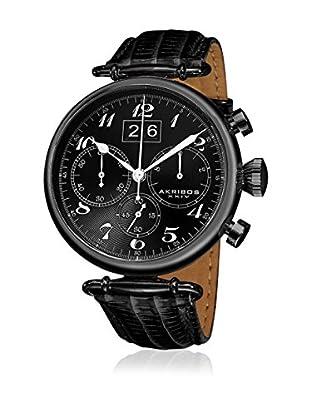 Akribos XXIV Reloj con movimiento cuarzo japonés Man AK628BLK 45 mm