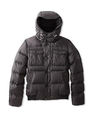 Gucci Men's Piumino Light Parachute Jacket (Black)