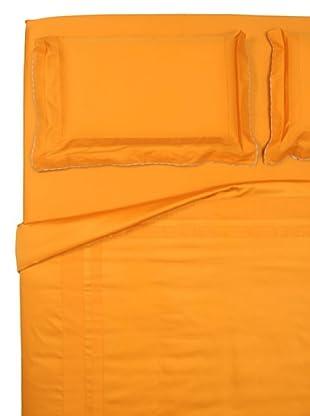 Ballantyne Home Completo Copripiumino Majestic (arancio)