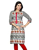Pakistani Long Cotton Kurtis(Size : XX-Large)