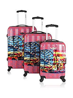 Panam Set de 3 trolleys rígidos 50600/3