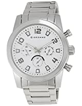 Giordano Analog White Dial Men's Watch - A1001-22