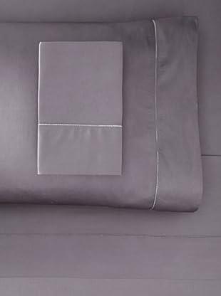 Dea Raso Hemstitch Sheet Set (Charcoal Grey)