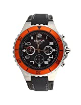 Sector Black Chronograph Men Watch R3271611025