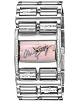 Miss Sixty Analog Pink Dial Women's Watch - SZ3006