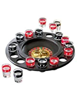 Game Night Roulette Drinking Shot Glass Set