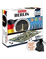 4D Berlin, Germany Cityscape Time Puzzle with Free Storage Bag