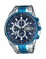 Casio Edifice Chronograph Black Dial Men's Watch - EFR-549BB-2AVUDF