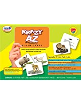 Krazy A to Z Animal - Flash Cards With Ring
