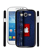 Fuson 2D Printed Apple Logo Designer Jeans Designer Back Case Cover for Samsung galaxy Grand Neo - D803