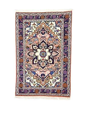 Eden Teppich   Ardebil Fondo Seta 68X104 mehrfarbig