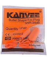 KANVEE Earplugs (Orange)